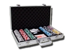 picture of 14gram Black Diamond Clay Poker Chips - Aluminum Case - Silver - 300 Chips (3 of 6)