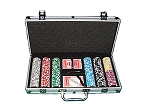 picture of 14gram Black Diamond Clay Poker Chips - Aluminum Case - Silver - 300 Chips (4 of 6)