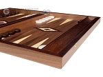 picture of 15-inch Zebrano Backgammon Set - Walnut Field (6 of 12)