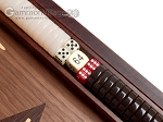 picture of 15-inch Zebrano Backgammon Set - Walnut Field (8 of 12)