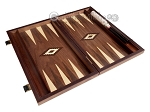 picture of 15-inch Zebrano Backgammon Set - Walnut Field (8 of 11)