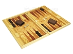 picture of Dal Negro Wood Backgammon Set - Poplar Root (2 of 10)