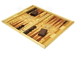 picture of Dal Negro Wood Backgammon Set - Poplar Root (3 of 10)