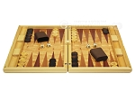 picture of Dal Negro Wood Backgammon Set - Poplar Root (4 of 10)