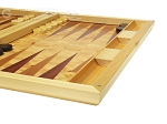picture of Dal Negro Wood Backgammon Set - Poplar Root (6 of 10)