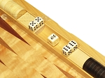 picture of Dal Negro Wood Backgammon Set - Poplar Root (7 of 10)