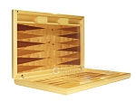picture of Dal Negro Wood Backgammon Set - Poplar Root (8 of 10)