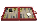 picture of Dal Negro Composite Fiber Backgammon Set - Red (4 of 10)