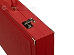 picture of Dal Negro Composite Fiber Backgammon Set - Red (10 of 10)