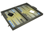 picture of Dal Negro Composite Fiber Backgammon Set - Grey (2 of 10)
