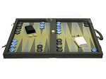 picture of Dal Negro Composite Fiber Backgammon Set - Grey (4 of 10)
