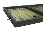 picture of Dal Negro Composite Fiber Backgammon Set - Grey (5 of 10)