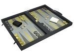 picture of Dal Negro Composite Fiber Backgammon Set - Calypso Blue with Blue Field (2 of 10)