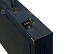 picture of Dal Negro Composite Fiber Backgammon Set - Calypso Blue with Blue Field (10 of 10)