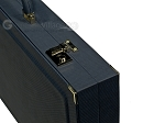 picture of Dal Negro Composite Fiber Backgammon Set - Calypso Blue with Grey Field (10 of 10)