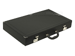 picture of Dal Negro Composite Fiber/Leatherette Backgammon Set - Black (9 of 10)