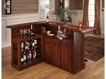 picture of Classic Cherry Large Bar with Side Bar (2 of 2)