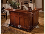 Classic Cherry Large Bar with Side Bar - Item: 1987