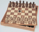 Medieval Chess / Checkers Combination Set - Item: 1305