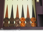 picture of Dal Negro Eco Leather Backgammon Set - Brown (7 of 11)
