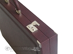 picture of Dal Negro Eco Leather Backgammon Set - Brown (9 of 11)