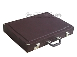 picture of Dal Negro Eco Leather Backgammon Set - Brown (11 of 11)