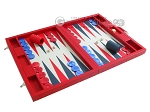 picture of Dal Negro Eco Leather Backgammon Set - Red (2 of 11)