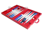 picture of Dal Negro Eco Leather Backgammon Set - Red (3 of 11)