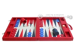 picture of Dal Negro Eco Leather Backgammon Set - Red (4 of 11)