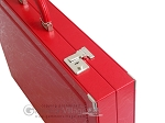 picture of Dal Negro Eco Leather Backgammon Set - Red (9 of 11)