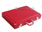picture of Dal Negro Eco Leather Backgammon Set - Red (11 of 11)