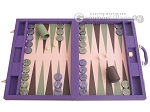 Dal Negro Cialux Backgammon Set - Purple - Item: 2380