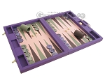 picture of Dal Negro Cialux Backgammon Set - Purple (2 of 11)