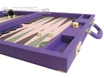 picture of Dal Negro Cialux Backgammon Set - Purple (6 of 11)