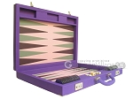picture of Dal Negro Cialux Backgammon Set - Purple (8 of 11)