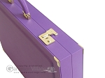 picture of Dal Negro Cialux Backgammon Set - Purple (9 of 11)