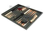 picture of Black Backgammon Set with Racks - Peach (3 of 12)