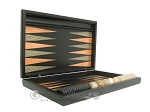 picture of Black Backgammon Set with Racks - Peach (7 of 12)