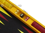 picture of Hector Saxe Faux Lizard Travel Backgammon Set - Yellow (9 of 12)