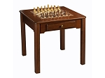 29-9032 - Chess / Checkers / Backgammon Table [31 1/2in.] - Made in USA - Item: 4021