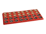 Giant Metal Backgammon Checkers (1 3/4in. Dia.) - Set of 32 - Item: 1384
