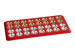 Gold Backgammon Checkers (1 3/16in. Dia.) - Set of 32 - Item: 1387