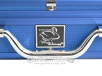 picture of White Swan Mah Jongg - White/Blue Tiles - Classic Pusher Arms - Aluminum Case - Blue (6 of 12)