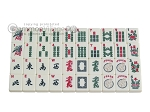picture of White Swan Mah Jongg - Ivory Tiles - Classic Pusher Arms - Aluminum Case - Pink (9 of 10)