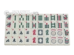 picture of White Swan Mah Jongg - Ivory Tiles - Classic Pusher Arms - Aluminum Case - Silver (9 of 10)