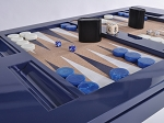 picture of Lacquered Backgammon Table - Navy (2 of 2)