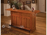 Classic Oak Large Bar - Item: 1662
