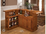 picture of Classic Oak Large Bar with Side Bar (2 of 2)