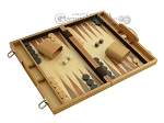 picture of 15-inch Wood Backgammon Set - Olive Wood (2 of 11)