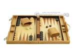 picture of 15-inch Wood Backgammon Set - Olive Wood (4 of 11)